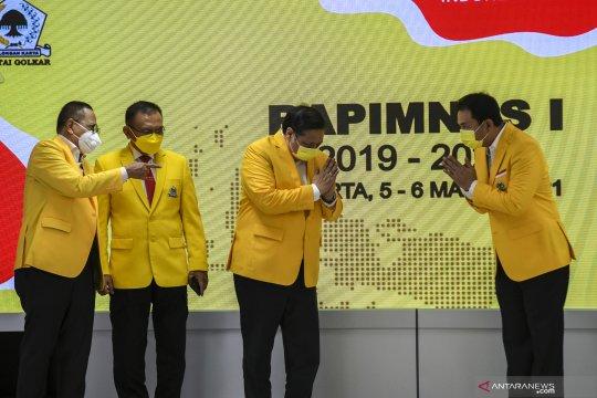 Airlangga ajak kader Golkar dukung program Presiden Joko Widodo