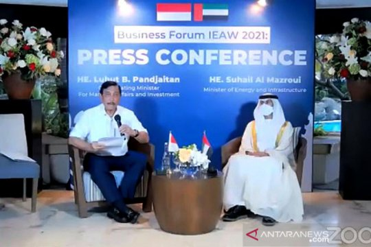 Indonesia-UAE teken sejumlah perjanjian kerja sama ekonomi