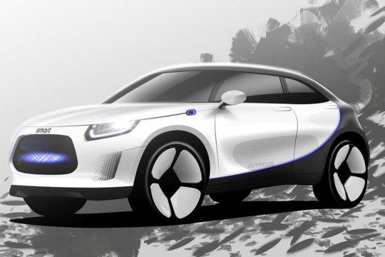 Mercedes-Benz dan Geely siapkan SUV listrik Smart tahun ini
