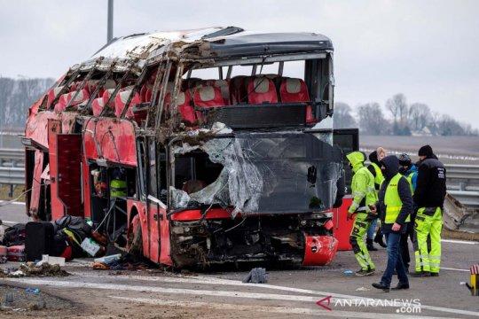 Kecelakaan bus Ukraina di jalanan Polandia