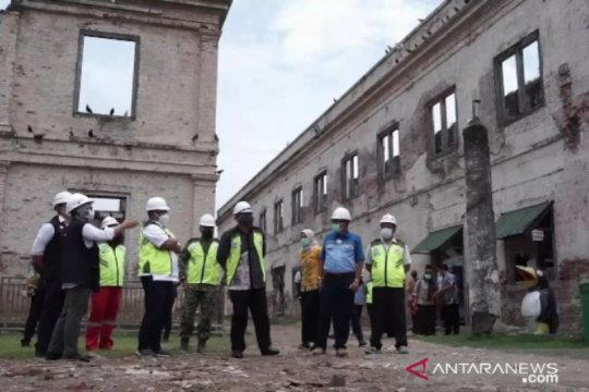 Restorasi Benteng Pendem Ngawi capai 10 persen
