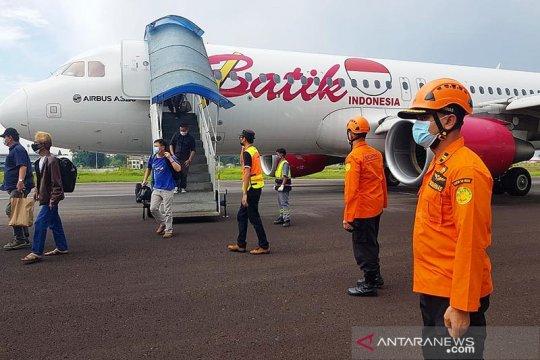 """Terhalang Batik Air, lima jadwal penerbangan di Bandara Jambi """"cancel"""""""