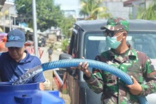 Warga korban gempa Mamuju masih butuh, TNI-AD bantu air bersih