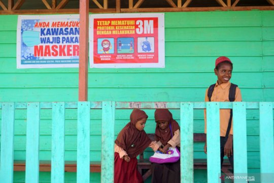 Papua Barat mulai gelar pembelajaran tatap muka
