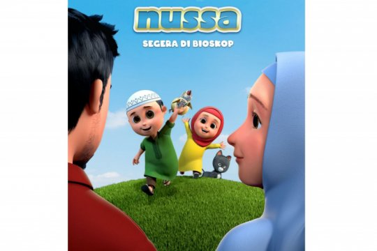 Poster baru film Nussa perlihatkan sosok Abba yang jarang terlihat
