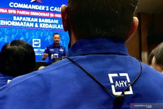 Ketua DPD Partai Demokrat se-Indonesia siap bantu AHY lawan KLB