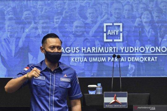 AHY dan seluruh Ketua DPD Partai Demokrat tolak KLB