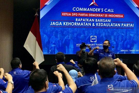 AHY minta rakyat Indonesia ikut bantu selamatkan demokrasi