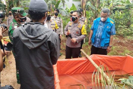 Kampung Tangguh Villa Inti Persada Pamulang sisakan enam kasus