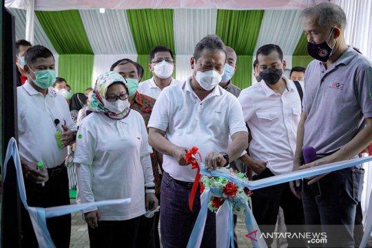 Menteri Trenggono resmikan Pusat Koi dan Maskoki Nusantara di Cibinong