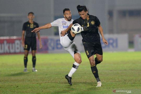 Uji coba Timnas U-23 lawan Bali United