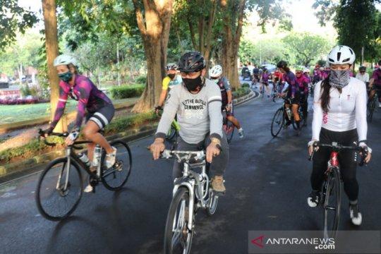 Wagub Bali apresiasi gaungkan pemberdayaan perempuan dengan bersepeda