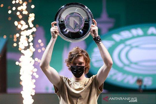 Rublev catatkan kemenangan ke-21 tingkat ATP 500 di babak kedua Dubai