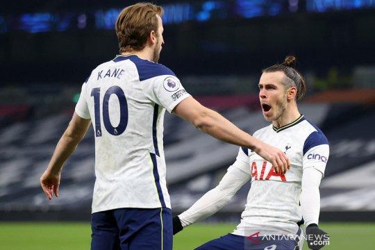 Kane dan Bale cetak dua gol saat Tottenham bekuk Palace 4-1