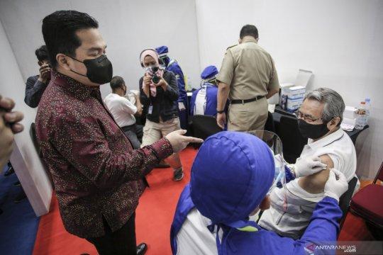 Prioritas lansia, Kementerian BUMN kebut realisasi satu juta vaksin