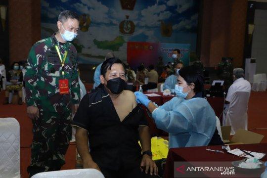 Mabes TNI gelar vaksinasi COVID-19 bagi purnawirawan dan keluarga TNI