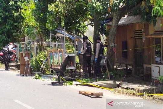Serpihan ledakan di Banda Aceh dibawa ke laboratorium forensik Polri