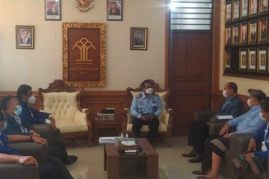 Kemenkumham terima laporan DPD Partai Demokrat Bali terkait kisruh KLB