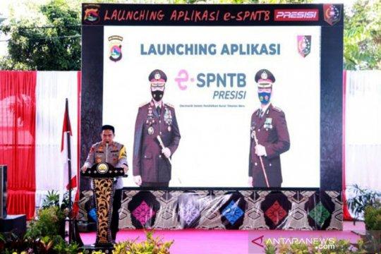 Sekolah Polisi Negara Polda NTB  luncurkan aplikasi E.SPNTB