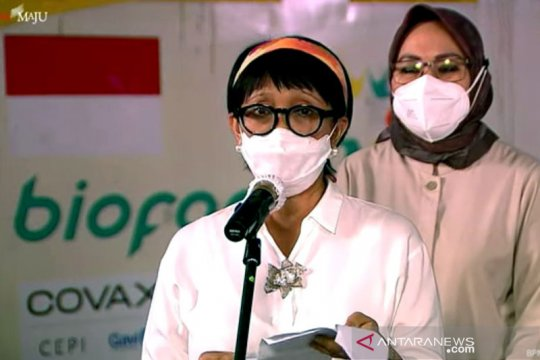 Menlu : Diplomasi vaksin bangun resiliensi kesehatan-pemulihan ekonomi