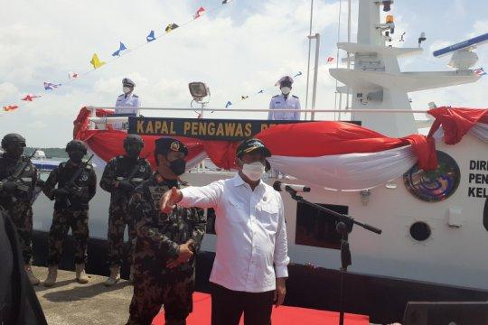 Menteri KKP resmikan dua kapal pengawas perikanan tipe cepat di Batam