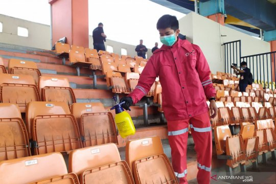 Stadion Si Jalak Harupat ketatkan prokes meski tak ada penonton