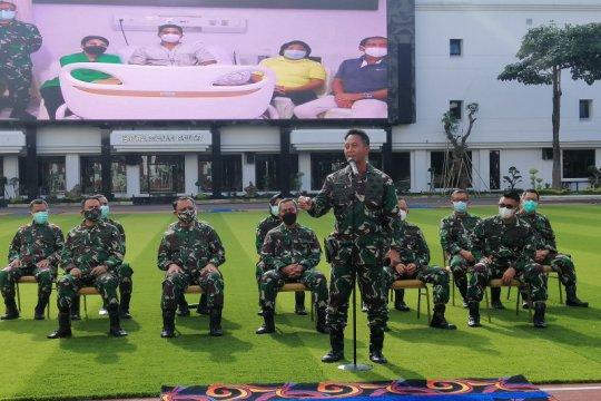 Jenderal TNI Andika Perkasa pastikan Serda Aprilia Manganang itu pria
