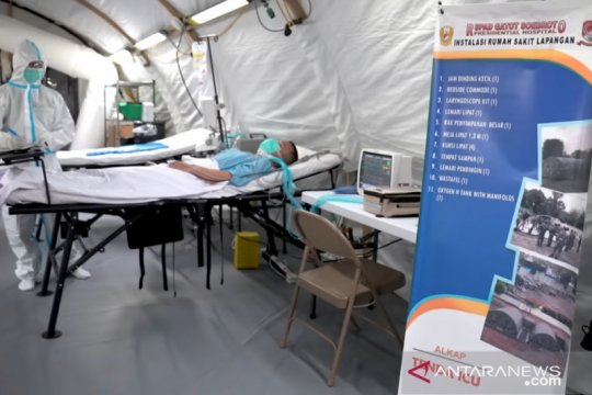 TNI AD siapkan instalasi RS Lapangan RSPAD tingkatkan layanan COVID-19