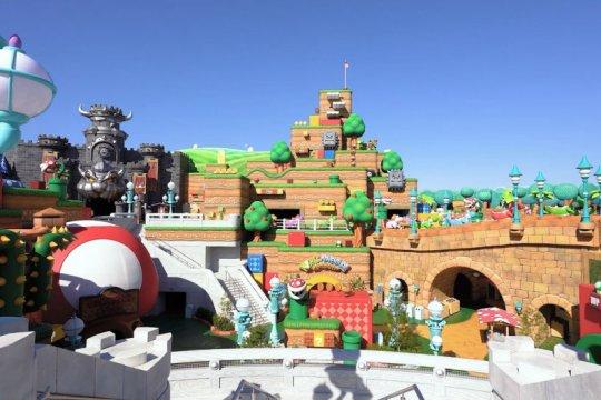 Super Nintendo World Osaka siap dibuka dengan prokes ketat