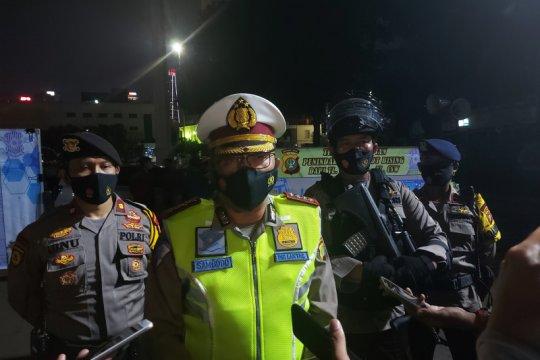 11 motor terjaring razia knalpot bising Polda Metro Jaya