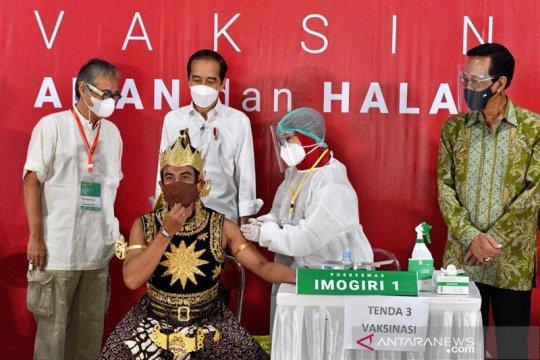 Jokowi harapkan pelaku seni tetap berkarya di tengah pandemi