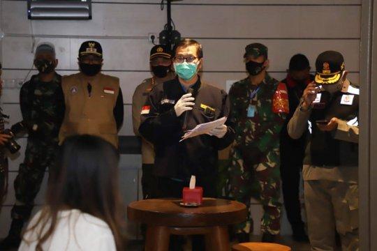 Dinkes Kota Malang pantau penanganan COVID-19 di Bhakti Luhur