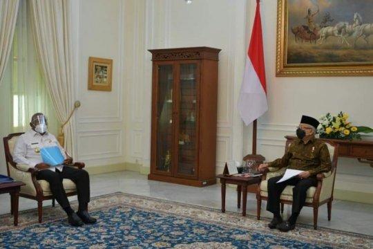 Gubernur Papua Barat bertemu Wapres, bahas percepatan pembangunan