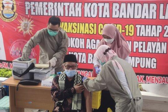 Puskesmas Bandarlampung layani  vaksinasi lansia cukup tunjukan KTP