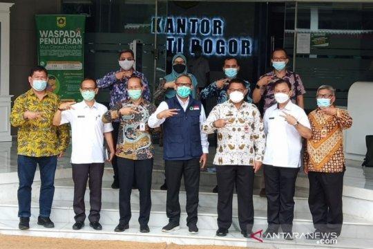 Kemenko Polhukam pastikan layanan informasi publik Antara di Bogor