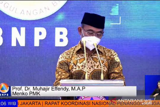 Muhadjir Effendy dorong BNPB susun dokumentasi kebencanaan