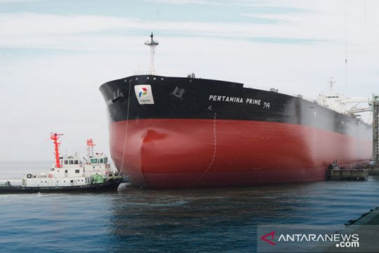 Pertamina uji coba kapal tanker raksasa buatan Jepang