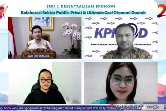 KPPOD soroti pentingnya peran swasta dalam pembangunan di daerah