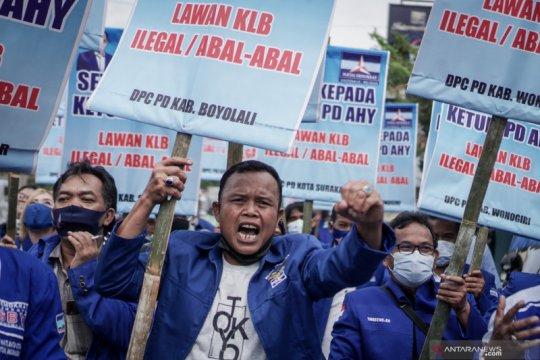 Kubu AHY tegaskan sebut AD/ART 2020 langgar UU itu hina menkumham