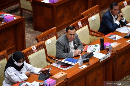 Rapat Dengar Pendapat DPR dengan KPK