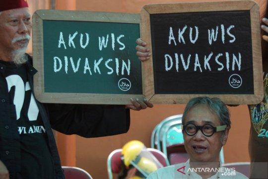 Vaksinasi COVID-19 bagi seniman di Yogyakarta