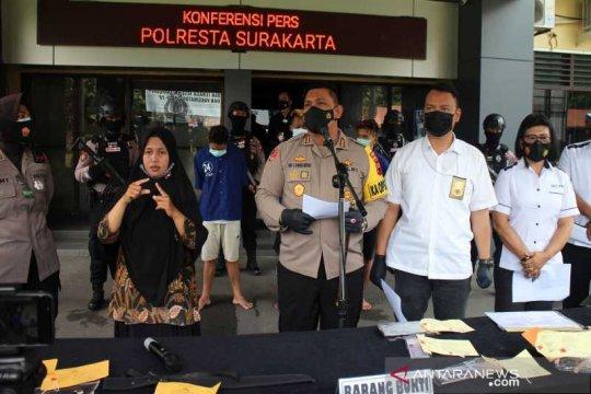 Polresta Surakarta tahan tiga pelaku diduga eksploitasi seksual anak