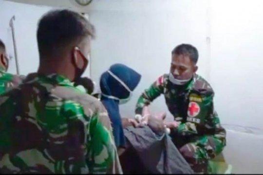 Satgas TNI bantu proses persalinan warga di perbatasan RI-PNG