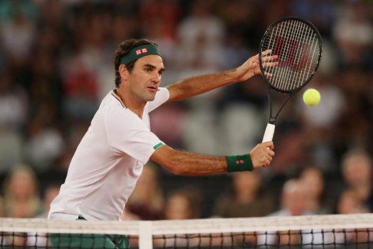 Federer bungkam Evans dalam laga pertama setelah absen 14 bulan