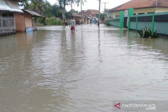 Tiga desa masih dilanda banjir di Kabupaten Bekasi