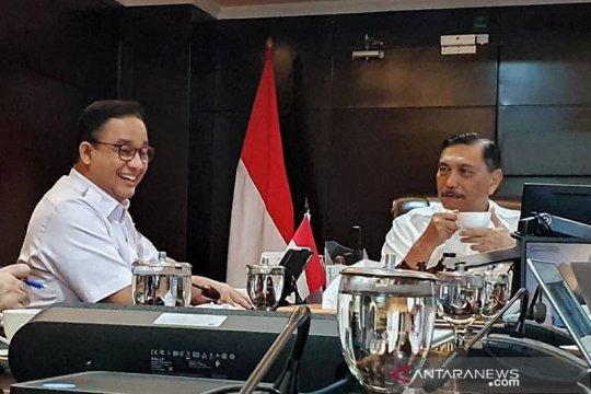 Legislator nilai pertemuan Anies-Luhut langkah baik untuk sinergitas