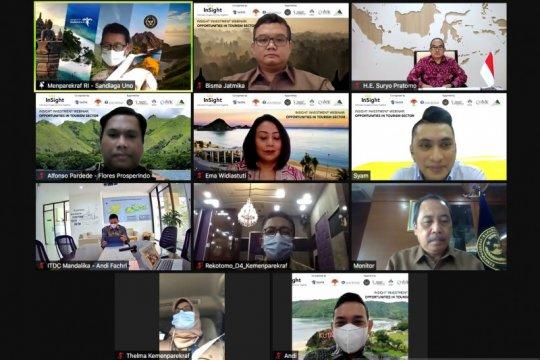 Pebisnis Singapura antusias pada proyek pariwisata Indonesia