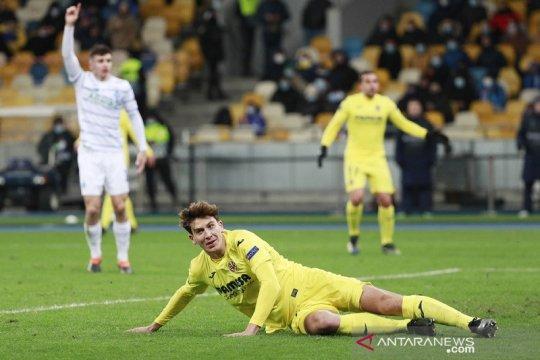 Duo bek tengah antar Villarreal menang di markas Dynamo Kiev