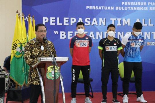 Tim Indonesia untuk All England terbang ke Inggris malam hari ini