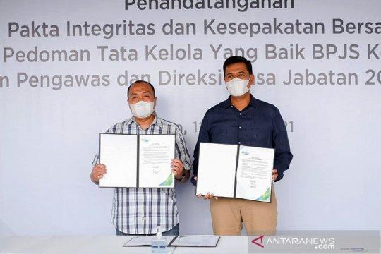 Direksi dan Dewas BPJAMSOSTEK teken Pakta Integritas